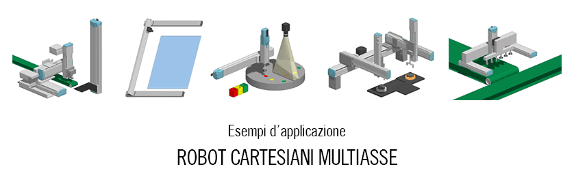 Robot cartesiani multiasse