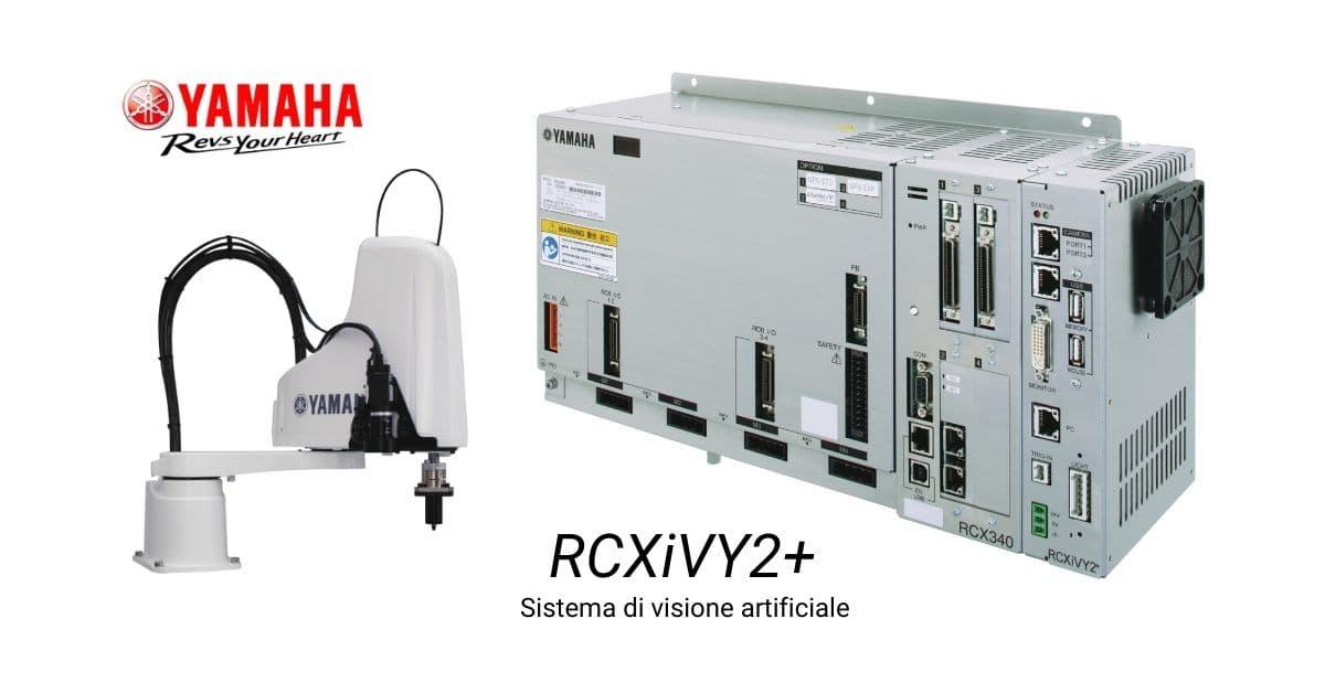 sistema di visione yamaha RCXiVY2+