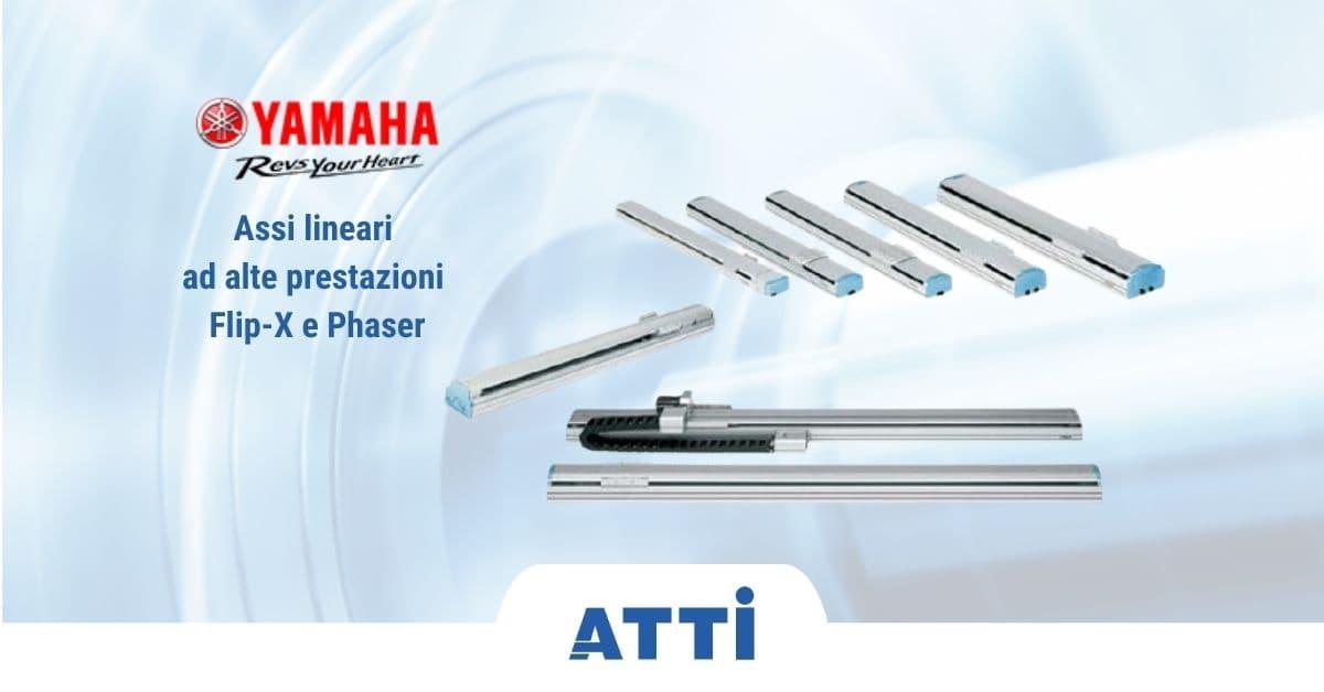 assi lineari flip-x phaser yamaha motor